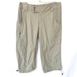 Columbia Omnishade Khaki Tan Capri Hiking Pants 8